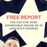 Most Affordable MS in Analytics Degrees