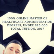 Online Master of Healthcare Administration Degrees